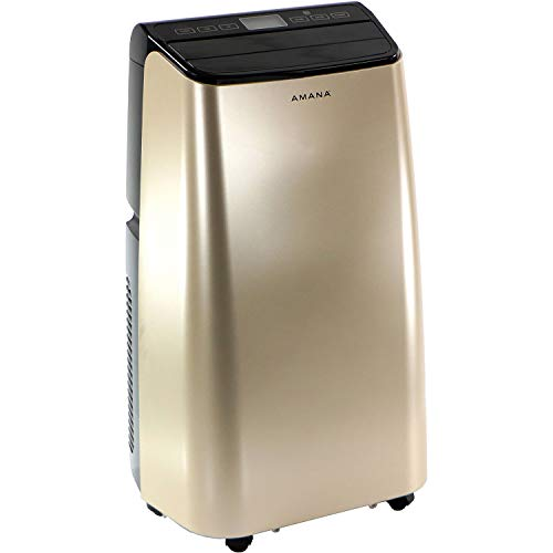 Amana Gold/Black Portable Air Conditioner with Remote Control