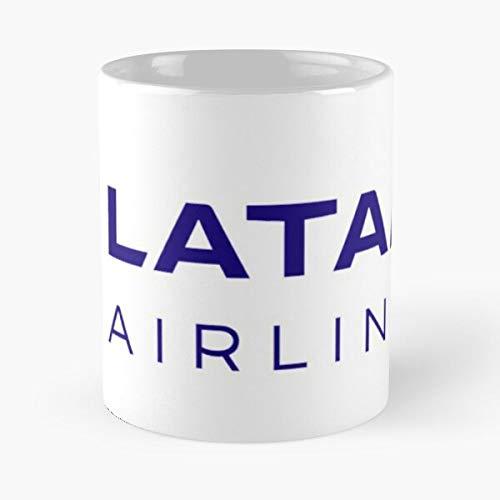 VinTageE Lufthansa United British Airways Latam Airlines Emirates American Etihad Best 11 oz Kaffeebecher - Nespresso Tassen Kaffee Motive
