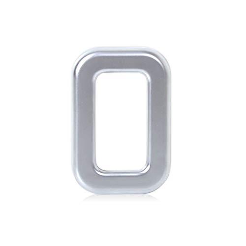 SHENYUAN-Accessories & Parts Nueva Chrome Puerta Trasera del Tronco del Marco Interruptor de botón Ajuste de la Cubierta Ajuste for el Land Rover Range Rover Sport EVOQUE 2013 2014 2015 2016