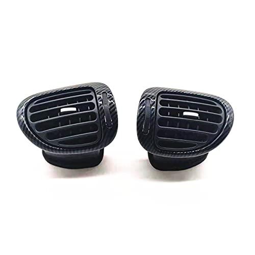 ZZJUN Xxjun Store Adatto Adatto for Peugeot 206 Dashboard Air Outlet 20 6CC. Pannello di Aria condizionata Citroen Orologio Dashboard del CRUSCOTTO del Pannello del Pannello della Fascia del C2