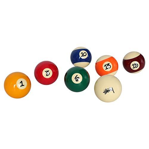 ステューシー STUSSY ビリヤードボール セット プールボール JAPER BEES BILLIARD BALL SET 15個セット [並行輸入品]