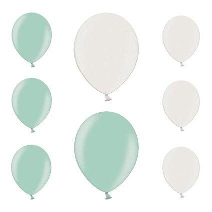 Like a Girl- wir lieben Hochzeiten 50 Metallic Luftballons Metallicluftballons Ballons für Luft...