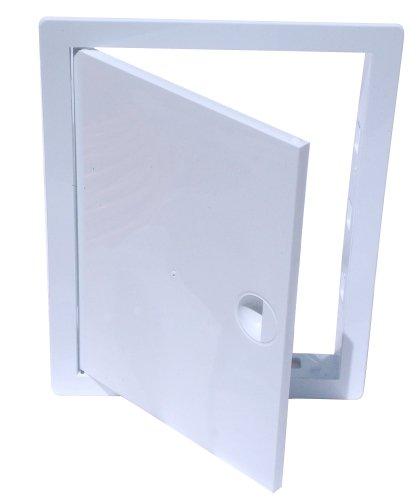 Revisionsklappe Revisionstür Revision Kunststoff weiß (20 cm x 40 cm) Hardi