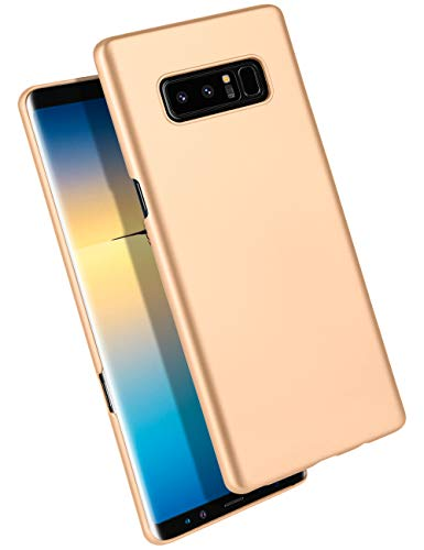 GOOSPERY Galaxy Note 8 Case Ultra Thin Hard PC Defender Phone Cover [Slim Fit] for Samsung Galaxy Note 8 (Matte Gold) NT8-UTPC-GLD