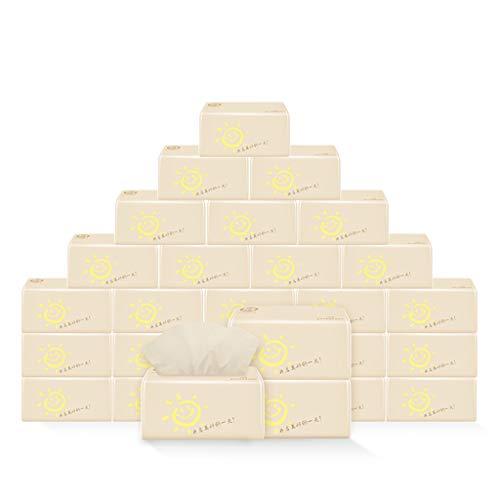 GAOXIAOMEI Bad Tissue Papier Roll Handdoek Gerecycled Papier Centrum Trek Handdoeken reliëf Wit Hout Tafel Keuken Drogen Hout Natuur Inclusief 28 Pack voor Thuisgebruik