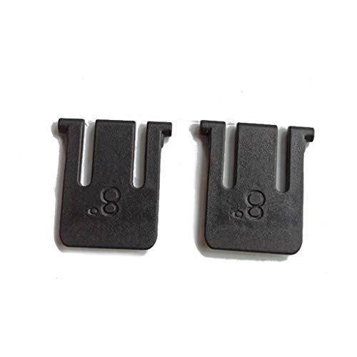 Meipai Keyboard-Halterung, Beinständer, kompatibel mit Logitech K220 K360 K260 Tastatur-Reparaturteile, 2 Stück