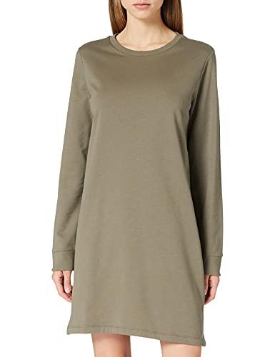 ONLY Damen ONLDREAMER Life Crew Neck Dress SWT Kleid, Bungee Cord, M