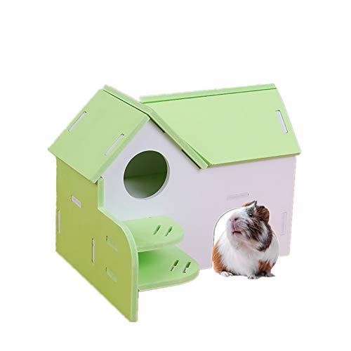 KUOZEN Jaula Hamster Grande Jaula Hamster Ruso Hámster Hámster Cama Juguetes de...