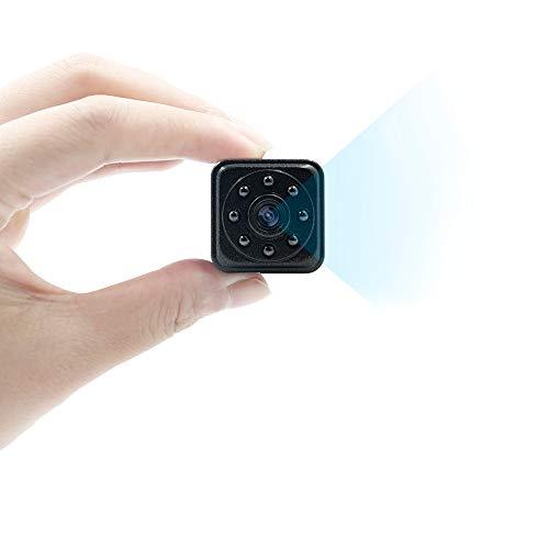 Camara Espia Oculta Mini Videocámara TANGMI 1080P HD Cámara de Vigilancia Detección de Movimiento Visión Nocturna IR para el Hogar, Oficina, Coche, Abejón