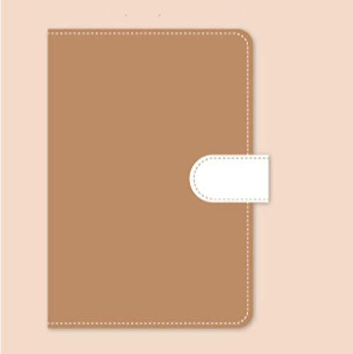 1set A6Notebook Stickers Clip Storage Bag Hanging Drop Portable Traveler Journal Notebook Stationery Set Gift A6 bear