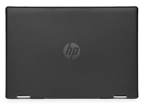 mCover Funda rígida solo para HP Pavilion x360 Convertible 14-DHxxxxx series de 14 pulgadas (dimensiones 32,4 x 22,29 x 2,05 cm) (Negro)