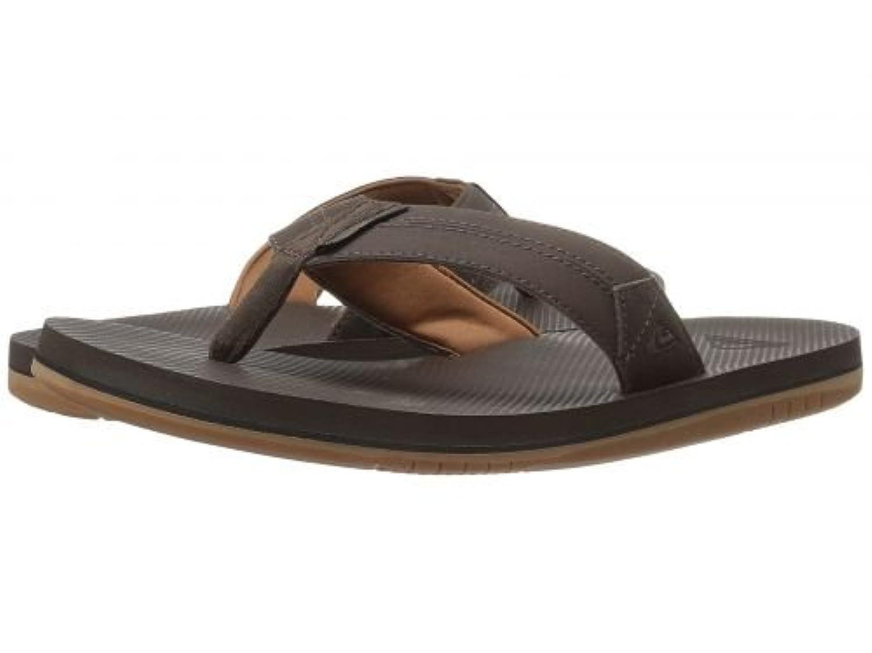 Quiksilver(クイックシルバー) メンズ 男性用 シューズ 靴 サンダル フラット Coastal Oasis II - Brown/Brown/Brown 13 D - Medium [並行輸入品]