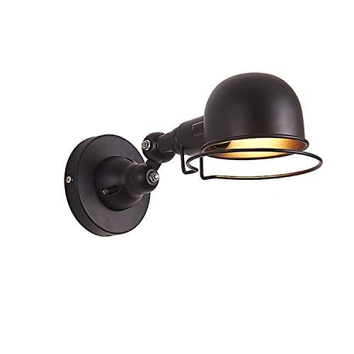 千飾 インダストリアル ランプ ブラケット ライト レトロ フレンチスタイル 工業系 ウォールライト アンティーク調 レトロ 北欧 おしゃれ インテリア 室内 ブラック
