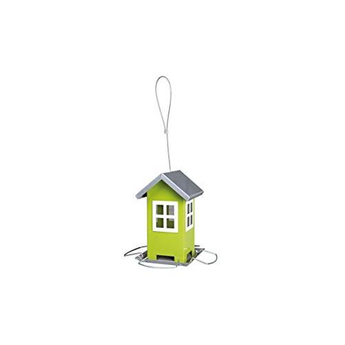 Trixie 55631 Futterhaus, 1.000 ml/20 cm, grün/silber