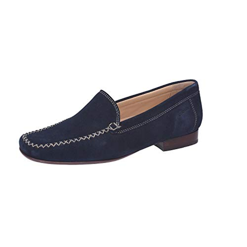 Sioux Damen Mokassin Mokassin Campina, Blau (night), 41 EU ( 7.5 UK)