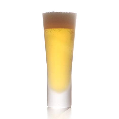 WiredBeansワイヤードビーンズ生涯を添い遂げるグラスビアビールグラス430ml国産杉箱入り(フロスト)