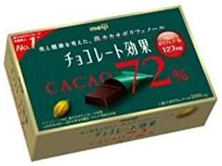 明治製菓 チョコレート効果カカオ72%BOX 10箱(5箱入×2)