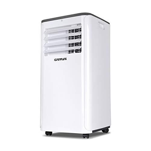 G3Ferrari G90075-Dolce Estate 9000 - Aire acondicionado portátil, 1010 W, 65 decibelios, plástico, blanco