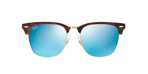 Ray-Ban RB3016F-8053672790023 Gafas de sol, Marrón (Brown), 55.0 Unisex Adulto