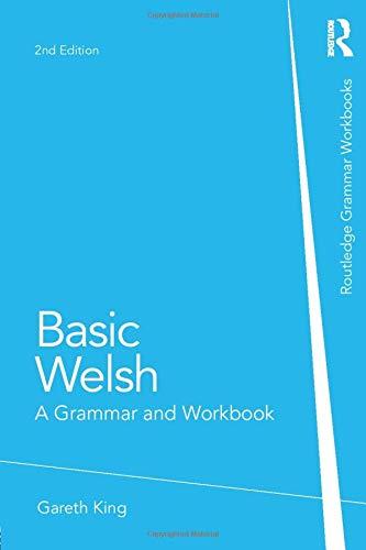 Basic Welsh: A Grammar and Workbook (Grammar Workbooks)