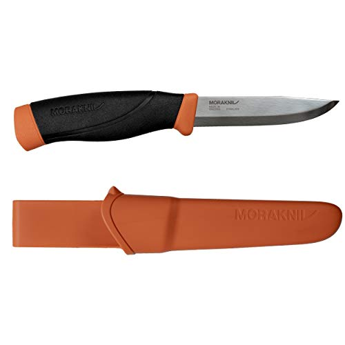 Mora survivalmes Companion-HD-Burnt Orange (S) - Orange