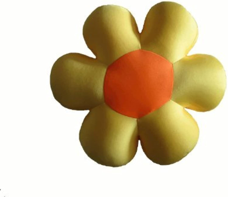Tache Squishy gituttio Field of Flowers Micro Bead Cushion Throw Pillow by Tache Home moda