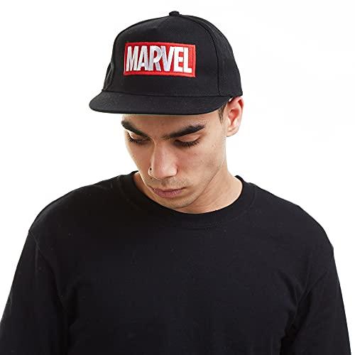 Marvel Cap Gorra de béisbol, Negro (Black), Talla única (Talla del Fabricante: One Size) para Hombre