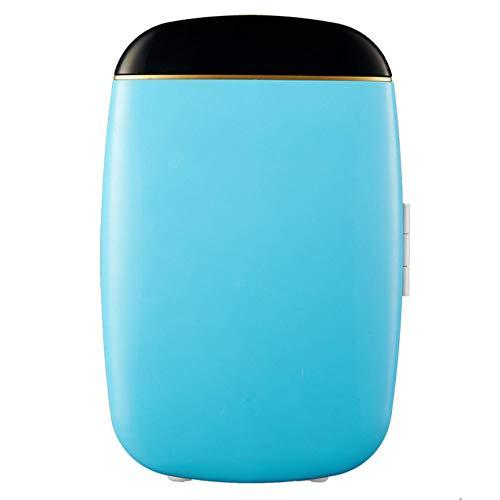 Lieling Kleine drankenkoelkast, licht compact, stille schakeling, koel- en verwarmingsfunctie, 12 V, 220 V, voor auto's, homes, office blauw