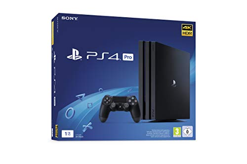 Sony PlayStation 4 Pro 1 To, Avec 1 manette sans fil DUALSHO