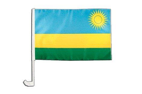 Drapeau de voiture Rwanda - 30 x 40 cm
