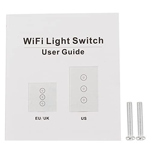 Interruptor de control remoto, Interruptor Controlador Botones Indicadores Interruptor de luz táctil para control remoto para una vida inteligente