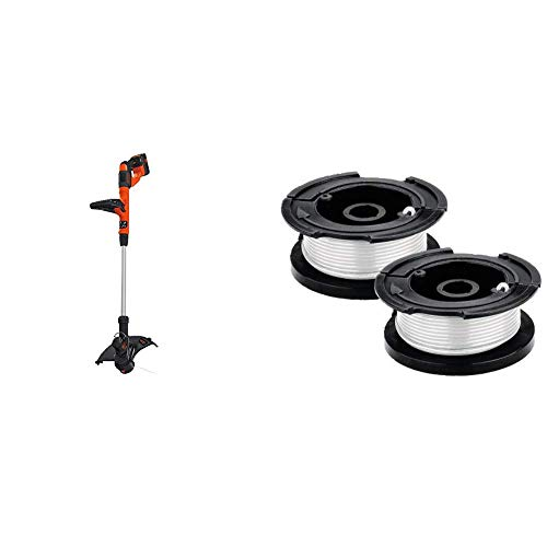 Best Deals! BLACK+DECKER 40V MAX String Trimmer/Edger with Trimmer Line Replacement Spool, Autofeed ...
