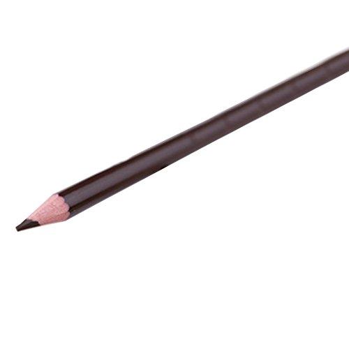 Babysbreath17 Waterproof Femmes Lisses Filles Crayon à Sourcils Pen Sourcils Maquillage des Yeux Silky Natural Cosmetics Long Lasting café Noir