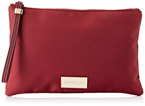 Don algodón 0HI2904055, Bolso Con Correa De Mano Mujeres, Rojo Burdeos, 24 X 16 Cm