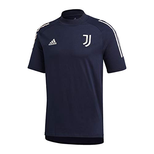 adidas Juventus FC Temporada 2020/21 JUVE tee Camiseta, Unisex, Legend Ink/Orbit Grey,...