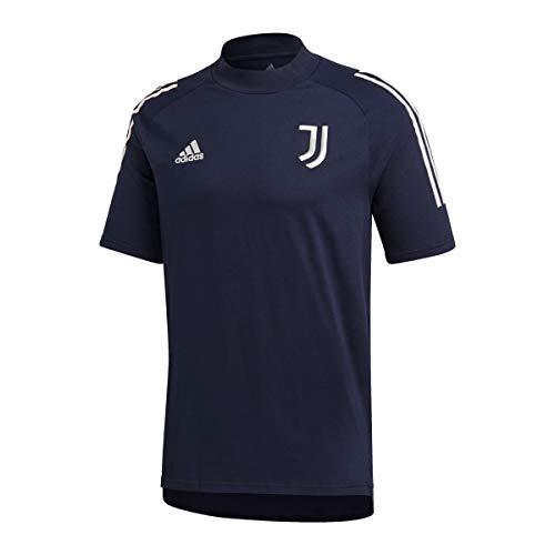 adidas Juventus FC Temporada 2020/21 JUVE tee Camiseta, Unisex, Legend Ink/Orbit Grey, L