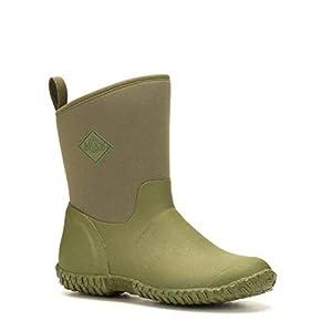Muck Boots Womens Muckster II Mid RHS Print Gardening Shoe Moss Green/Tomatoes Size UK 7 EU 41
