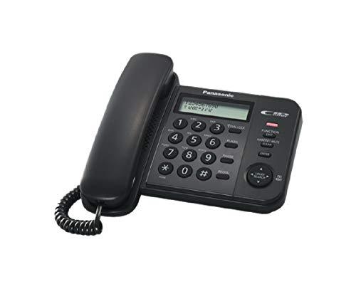 Panasonic KX-TS 560 Telefono Domestico Ufficio Sistema Telefonico Integrato Display LCD Identificativo di chiamata ID