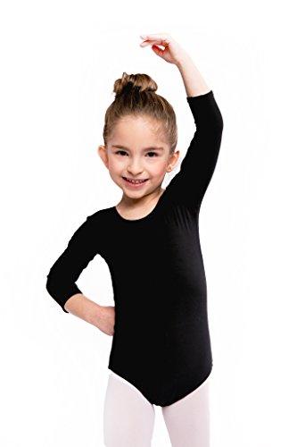 cotone Assoluta Body da ginnastica per bambine