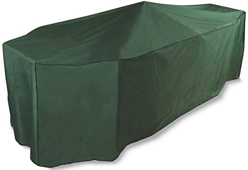 Bosmere Cover Up 6 Seat Rectangular Patio Set Cover, Green, C530