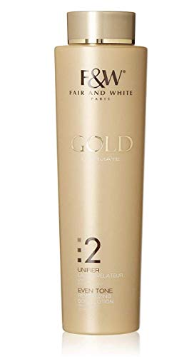 Fair & White 2: Gold Revitalizing Body Lotion with 1.9% Hydroquinone, 500ml / 17.6fl.oz