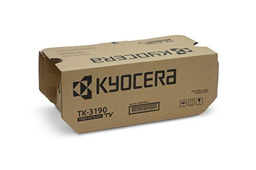 Kyocera TK-3190 Tóner Negro | Cartucho de tóner original 1T02T60NL1 | Compatible con ECOSYS M3655idn, ECOSYS M3660idn, ECOSYS P3055dn, ECOSYS P3060dn