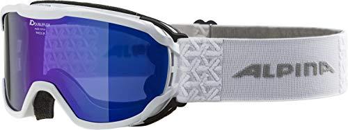 ALPINA PHEOS JR. Skibrille, Kinder, white, one size