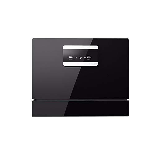 LAMCE Lave Vaisselle encastrable WQP6-8201E - Lave Vaisselle Tout integrable 60 cm - Classe A++ / 50 decibels - 14 Couverts - Lave Vaisselle INOX - Lave Vaisselle Tout integrable Black