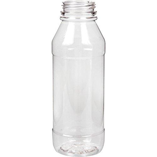 janilec AP503–16Saft Kunststoff Pet Flasche, rund, klar, 500ml (131Stück)