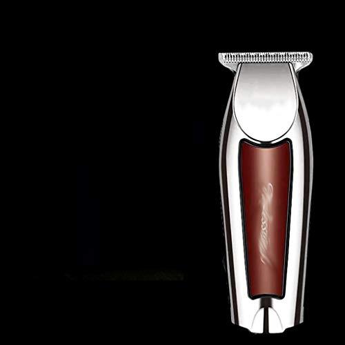 MISS YOU Cortar el Pelo Pelo USB podadoras Retro Cabeza de Aceite Grabado maquinilla eléctrica puntuación de 0 Cabeza cortadora Recorte gradiente atenuador peluquería