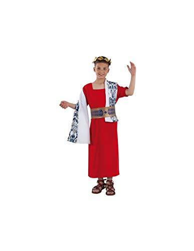 DISBACANAL Disfraz Cesar Romano Infantil - -, 4 aos