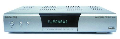 Digitalbox Imperial DB 1 CI / HDMI DVB-S Sat Receiver Silber