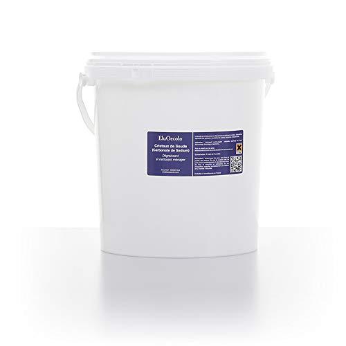 Cristaux de Soude boite hermétique 6kg avec doseur à l'intérieur - EluOecolo Made in France