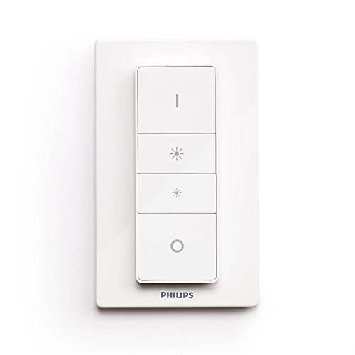 Philips Hue Smart Dimmer Switch with Remote (Requires Hue Hub, Installation-Free  Exclusive for Philips Hue Lights)